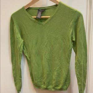 4/$25 BCBG Silk & Cashmere Sweater